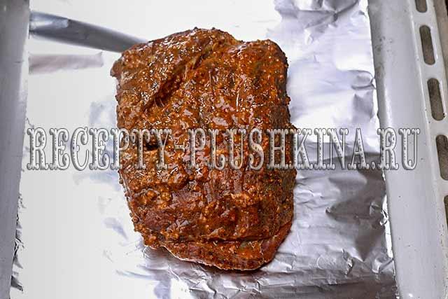 как запекать говядину в фольге