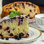 пирог с черной смородиной простой рецепт