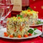 салат столичный с курицей классический