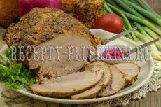 Свиной окорок запеченный в духовке