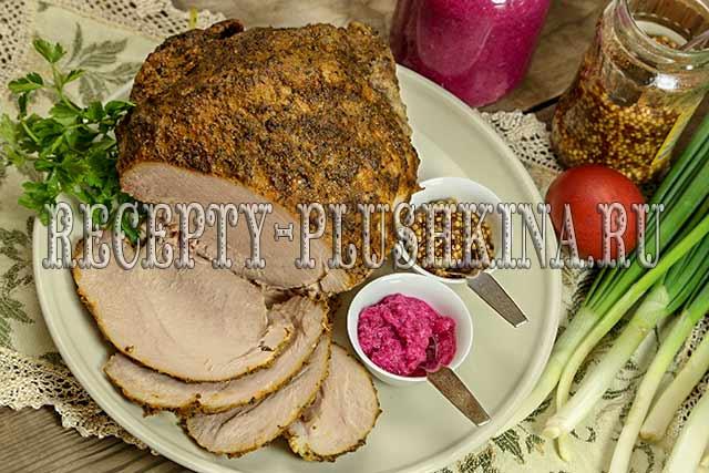 свиной окорок в духовке