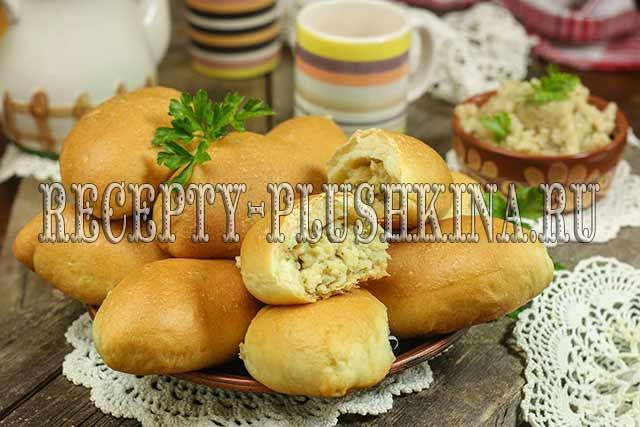 пирожки с картошкой в духовке на дрожжевом тесте
